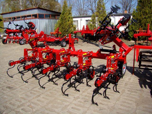 HELTI Giesinger kultivátor SMK-R-6-H2 sorközművelő