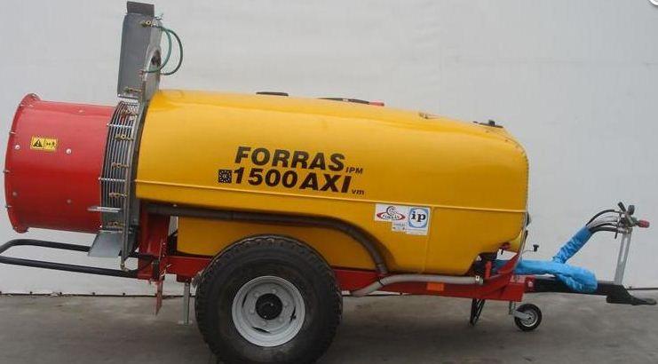 FORRÁS-GÉPEK Forrás 1500 AXIVM permetezőgép