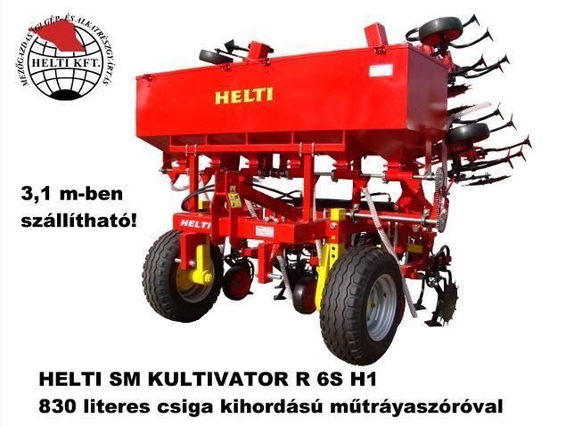 HELTI R 6S H1 sorközművelő