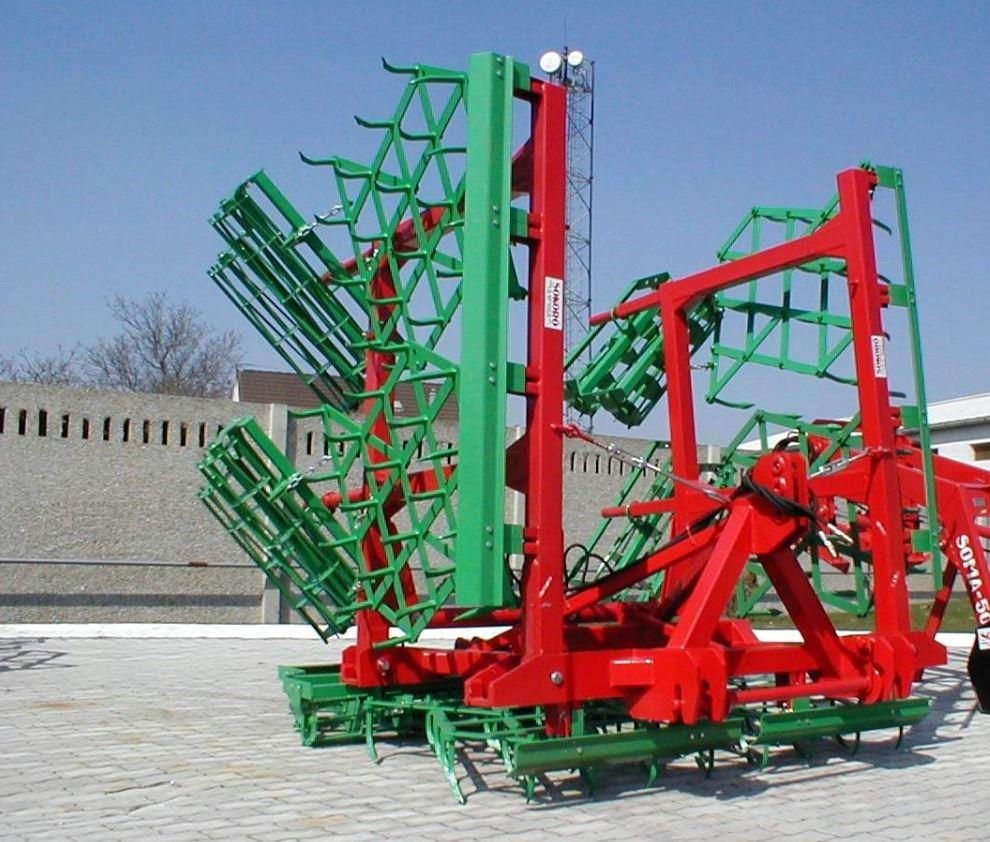 SOKORO 66,2  SK függesztett hidraulikus csukású Kombinátor magágykészítő